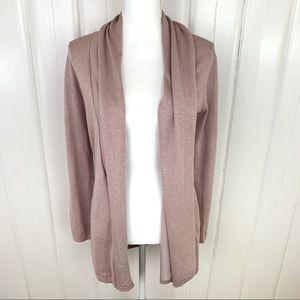 Zara: Thick knit purple cardigan